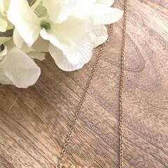 Gold Plated Gemstone Crystal Jasper Bead Bar Necklace- Wedding Birthday Gift