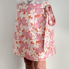Gum Leaves Wrap Skirt (Large)