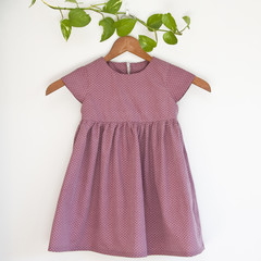 Eco Cotton Girls Dress Size 3