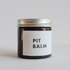 pit balm  |  60g - all natural deodorant, non-toxic, soothing, zero waste