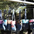 PEG BAGS - Handmade using upcycled Denim Jeans