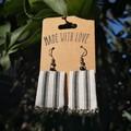 Small Stripe Earrings