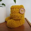 Mustard Little Boots
