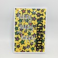 Birthday Card - Triple Happy, bright stars