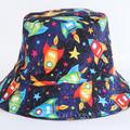 Rocket Bucket Hat. Size 2-4 years