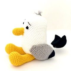 seagull, FREE DELIVERY, stuffed toy, Australian animal, baby boy toy, girl toy