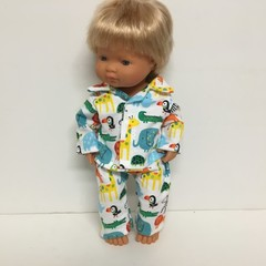Miniland and Minikane Dolls Pajamas to fit 38cm Dolls