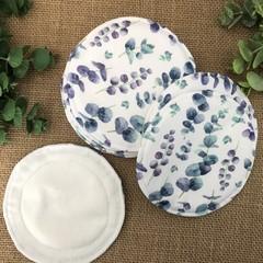 Reusable Breast pads- Eucalyptus