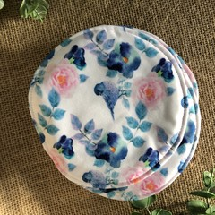 Reusable Breast pads- Birds in the flowers