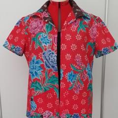Unisex Batik Open Shirt