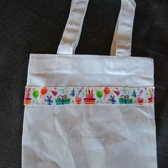 Small party tote bag / party gift bag