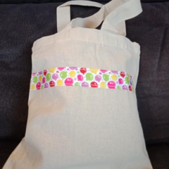 Small party balloon print tote bag / party bag