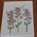 Watercolour Ruled Notepad - Sweet Peas