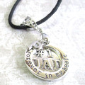 Forever in my Heart Mum or Dad Keepsake  Pendant Customize your own.