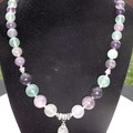 GEMSTONE NECKLACE & BRACELET
