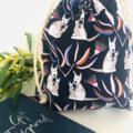Kangaroo Native Australian Animal Medium Drawstring Ba for Storage or Gift Bag
