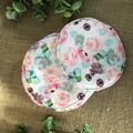 Reusable Breast pads- Pink Floral