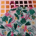 Dust Cover for Clothing-Bright print