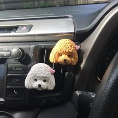 Poodle Car Air Freshener