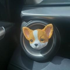 Chihuahua car air freshener