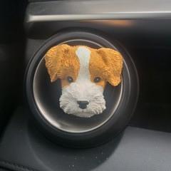 Schnauzer car air freshener