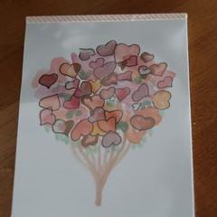 Watercolour Ruled Notepad - Heart Tree