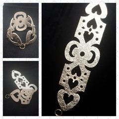 Antique Gold Cuff Bracelet