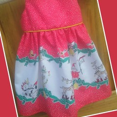 Size 1 Christmas Tea Party Dress
