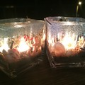 Ocean themed candle holder - Square type