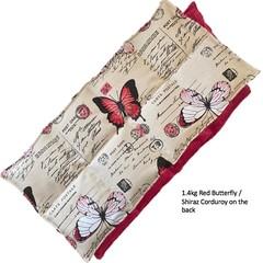 Wheat Bag 1.4kg Butterflies Butterfly Sectioned Heat Bag Heat Pack Winter Warmer