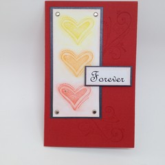 Love, Engagement, Wedding, Anniversary Card - Forever
