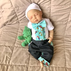 Newborn Boy Coming Home Outfit, Baby Bow Tie Bodysuit, Wedding, Gift Idea
