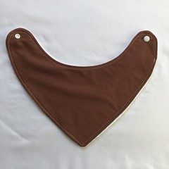 Chocolate Bandana Bib