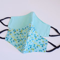 Polka dots 3 layers  face mask  Reversible  Face cover