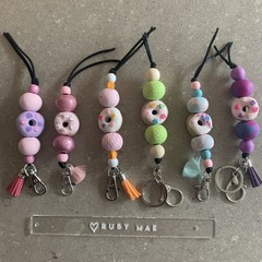Donut Key rings