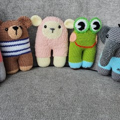 Crochet Animal Farm