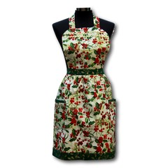 Deck the Halls - ladies traditional apron