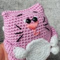 Crochet Kitty Amigurumi, Kitty Soft Toy, Kids Soft Toy
