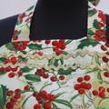 Deck the Halls - ladies traditional apron