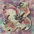 "Unicorns cloth pad liner 6"" (15cm)"