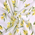Native Australian Golden Wattle Scarf, Australian Flora Scarf, Scarves