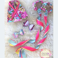 Dancing Ribbon & Bow Gift Set - Party gift idea