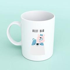 Fathers day mug, best dad mug, mug for Dad, Fathers day gifts, personalised mug