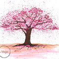 """Cherry Blossom"" Original Watercolour Painting"
