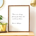 Printable Wall Art | Henri Matisse Quote | There Are Always Flowers
