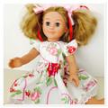 Floral & Hearts Dolls Dress