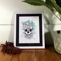 Sugar Skull Chilli Prints - A3, A4 & A5 sizes available