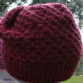 Pure wool beanie unisex teen adult