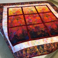 ROOM WITH A VIEW handmade Quilt