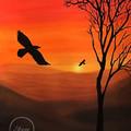 """""""Soar"""" Watercolour Print"""